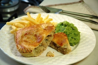 Pulled Pork and Bean Pie